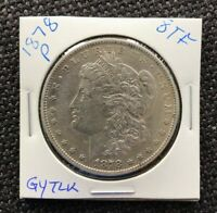 1878 8TF MORGAN DOLLAR REVERSE OF 1878 WHICH VAM? SHIPS INSURED FREE