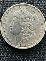 1878 MORGAN DOLLAR HOT 50 VAM 187 DOUBLED RIB SHIPS INSURED FREE