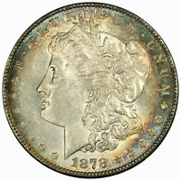 1878 S TONED BEAUTY MORGAN SILVER DOLLAR SHIPS INSURED FREE