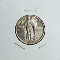 1930 STANDING LIBERTY QUARTER - ABOUT UNCIRCULATED - GREAT LOOKING PIECE