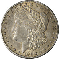 1900-S MORGAN SILVER DOLLAR GREAT DEALS FROM THE EXECUTIVE COIN COMPANY