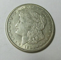 1921 S VAM 6A DIE GOUGE @ B U OF PLURIBUS HIT LIST 40 R5  MORGAN DOLLAR SHIPS IN