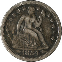 1854-O SEATED LIBERTY DIME GREAT DEALS FROM THE EXECUTIVE COIN COMPANY BBTE2765