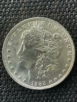 1888 O MS BU VAM 1B1 EDS WOW MORGAN SILVER DOLLAR SHIPS INSURED FREE