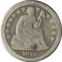 1842-O SEATED LIBERTY DIME GREAT DEALS FROM THE EXECUTIVE COIN COMPANY BBTE2783