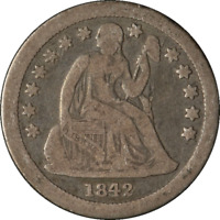 1842-O SEATED LIBERTY DIME GREAT DEALS FROM THE EXECUTIVE COIN COMPANY BBTE2794