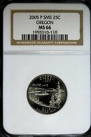 2005   P NGC MS66 SMS