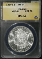 1880 S VAM 11 HOT 50 MS 64