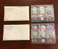 LOT OF  2  1964 UNITED STATES MINT SETS WITH OGP