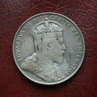 CANADA 1902 SILVER 50 CENTS