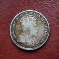 CANADA 1903 SILVER 25 CENTS