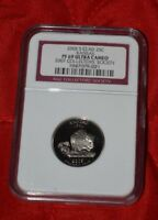 2007 S NGC PF 69 KANSAS STATE QUARTER CLAD ULTRA CAMEO COLLE