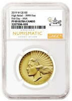 2019 W GOLD AMERICAN LIBERTY HIGH RELIEF G$100 .9999 NGC PF6