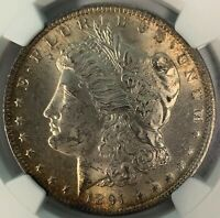 1891 CC TOP 100 VAM 3 SPITTING EAGLE MORGAN SILVER DOLLAR NGC MINT STATE 63  $850 VALUE