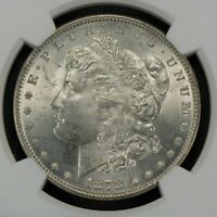 2  TOP 100 VAM 141A TRIPLED STAR & DIE GOUGE WINGTIP 1878 MORGAN DOLLARS MS BU