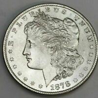 1878 8TF MS BU MORGAN SILVER DOLLAR SHIPS INSURED FREE