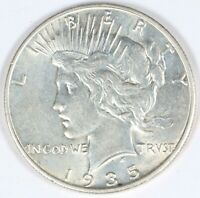 1935-S PEACE SILVER DOLLAR S$1 VINTAGE