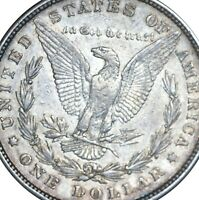 1878 8TF VAM 12 W/ 5 DEGREE ROTATED REV MORGAN SILVER DOLLAR SHIPS INSURED FREE