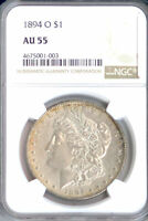 1894-O MORGAN DOLLAR AU55 NGC PA4675001003