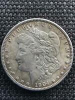 1904 LOGOTYPE VAM 3A MORGAN DOLLAR SHIPS INSURED FREE