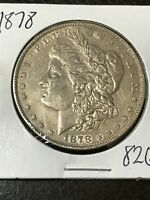 1878 7TF REVERSE OF 1878 VAM 197 MORGAN SILVER DOLLAR SHIPS INSURED FREE