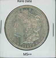 1921-S MORGAN DOLLAR $1 US MINT  DATE GEM PQ SILVER COIN 1921-S MS