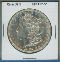 1902 P MORGAN DOLLAR $1 US MINT  DATE SILVER COIN 1902-P HIGH GRADE