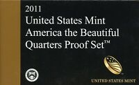 2011 S U.S. MINT AMERICA THE BEAUTIFUL QUARTERS PROOF COIN S