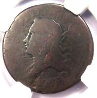 1793 LIBERTY CAP FLOWING HAIR HALF CENT 1/2C   NGC POOR 1 BN   $1 500 VALUE