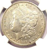 1903-S MORGAN SILVER DOLLAR $1 - CERTIFIED NGC EXTRA FINE 40 EF40 -  DATE COIN