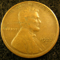 1923-S LINCOLN WHEAT CENT-PENNY       COIN               1003195