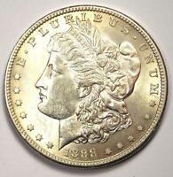 1888-S MORGAN SILVER DOLLAR $1 -  DATE - EXCELLENT CONDITION -  LUSTER