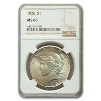 1926 PEACE DOLLAR MINT STATE 66 NGC - SKU170232