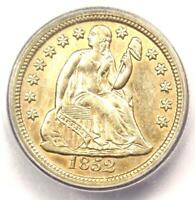 1852-O SEATED LIBERTY DIME 10C COIN - CERTIFIED ICG AU55 - $1,020 VALUE