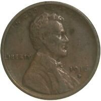 1916 D LINCOLN WHEAT CENT  FINE PENNY VF
