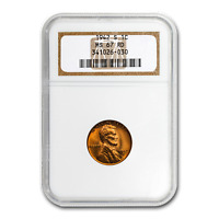 1942-S LINCOLN CENT MINT STATE 67 NGC RED - SKU189612