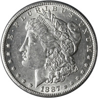 1887-S MORGAN SILVER DOLLAR GREAT DEALS FROM EXECUTIVE COIN COMPANY - BBDM9410