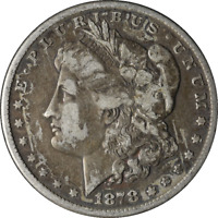 1878-P MORGAN SILVER DOLLAR 8TF GREAT DEALS FROM EXECUTIVE COIN COMPANY BBDM9283