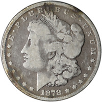 1878-P 8TF MORGAN SILVER DOLLAR GREAT DEALS FROM THE EXECUTIVE COIN COMPANY