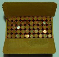$25 BOX LINCOLN WHEAT ROLL SEALED 1909 1958 P D S CENT PENNY