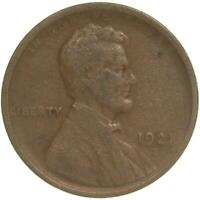 1921 S LINCOLN WHEAT CENT  GOOD PENNY VG