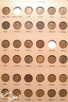 NEARLY COMPLETE SET OF LINCOLN CENTS 1909 2018 <> SEE DESCRI