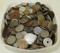 JOB LOT GENUINELY UNSORTED WORLD COINS APPROX 6.4 KILOS. 17