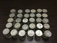 LARGE LOT OF 600 90  SILVER QUARTERS  $150.00  1964 & EARLIE