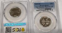 2019 W 25C TEXAS SAN ANTONIO MISSIONS WEST POINT PCGS 1ST WE
