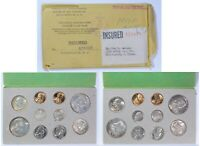 1958 P D COMPLETE 20 COIN ORIGINAL TONED UNCIRCULATED DOUBLE