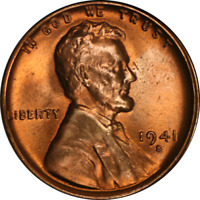 1941-S LINCOLN CENT  BU - STOCK
