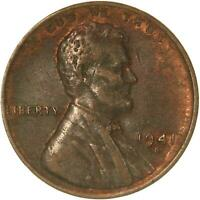 1941 S LINCOLN WHEAT CENT ABOUT UNCIRCULATED PENNY AU