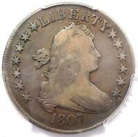 1807 DRAPED BUST HALF DOLLAR 50C O-108 - PCGS VF DETAILS -  CERTIFIED COIN