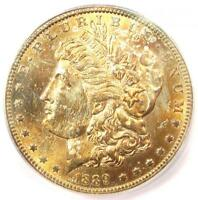 1889-S MORGAN SILVER DOLLAR $1 COIN - ICG MINT STATE 65 -  IN MINT STATE 65 - $1,620 VALUE
